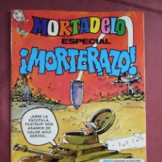 Tebeos: MORTADELO. ESPECIAL MORTERAZO. Nº 135, 1982. 76 PÁGINAS, IMPECABLE.. Lote 128646119