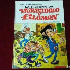 Tebeos: LA HISTORIA DE MORTADELO Y FILEMÓN . Lote 128646299