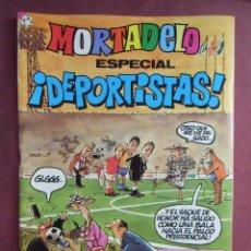 Tebeos: MORTADELO. ESPECIAL DEPORTISTAS- Nº 132, 1982. 76 PÁGINAS, IMPECABLE.. Lote 128646323