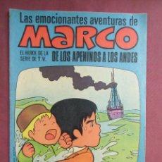 Tebeos: LAS EMOCIONANTES AVENTURAS DE MARCO, Nº 25,4/7/1977. BRUGUERA, IMPECABLE.. Lote 128647195