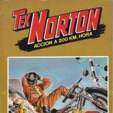 Tebeos: TEX NORTON-MOTOS-SELECCIÓN Nº 1-BRUGUERA-NÚMEROS: 1-2-3-4-5-6-POSTERS-NUEVO.. Lote 128667007