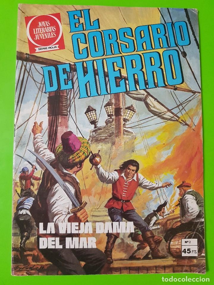 EL CORSARIO DE HIERRO Nº 2 AÑOS 1977 Y 1980 (Tebeos y Comics - Bruguera - Corsario de Hierro)
