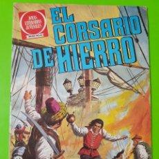 Tebeos: EL CORSARIO DE HIERRO Nº 2 AÑOS 1977 Y 1980. Lote 128680399