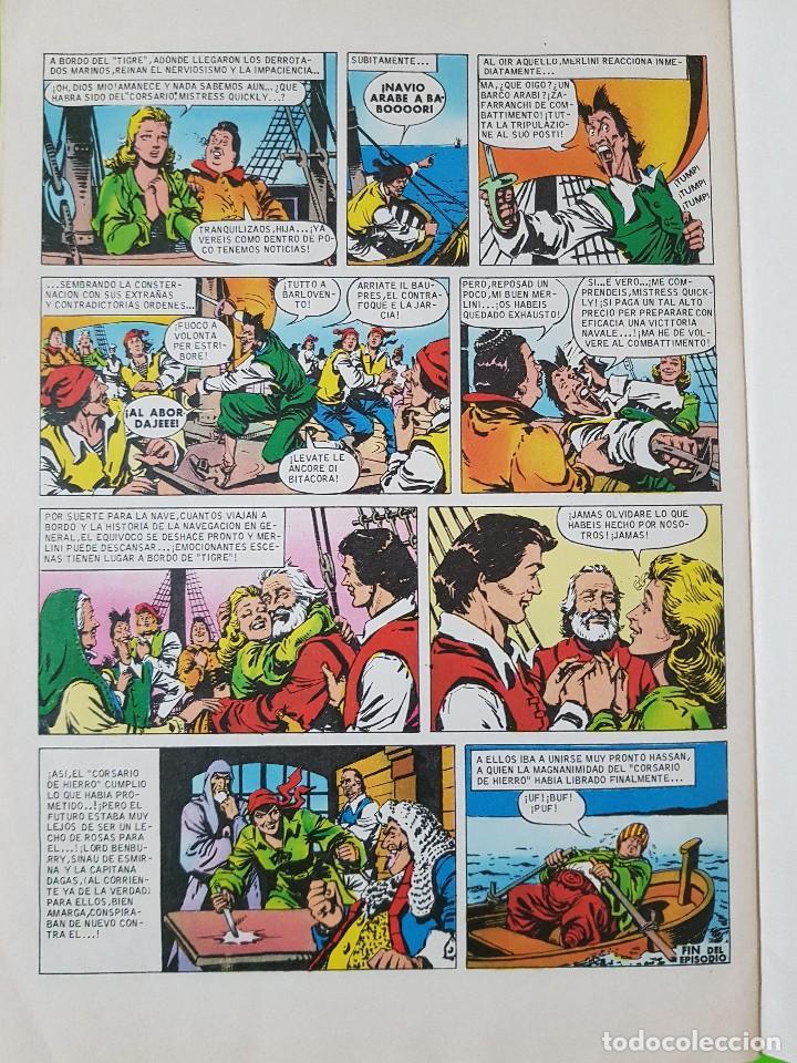 Tebeos: El Corsario de Hierro nº 2 años 1977 y 1980 - Foto 4 - 128680399