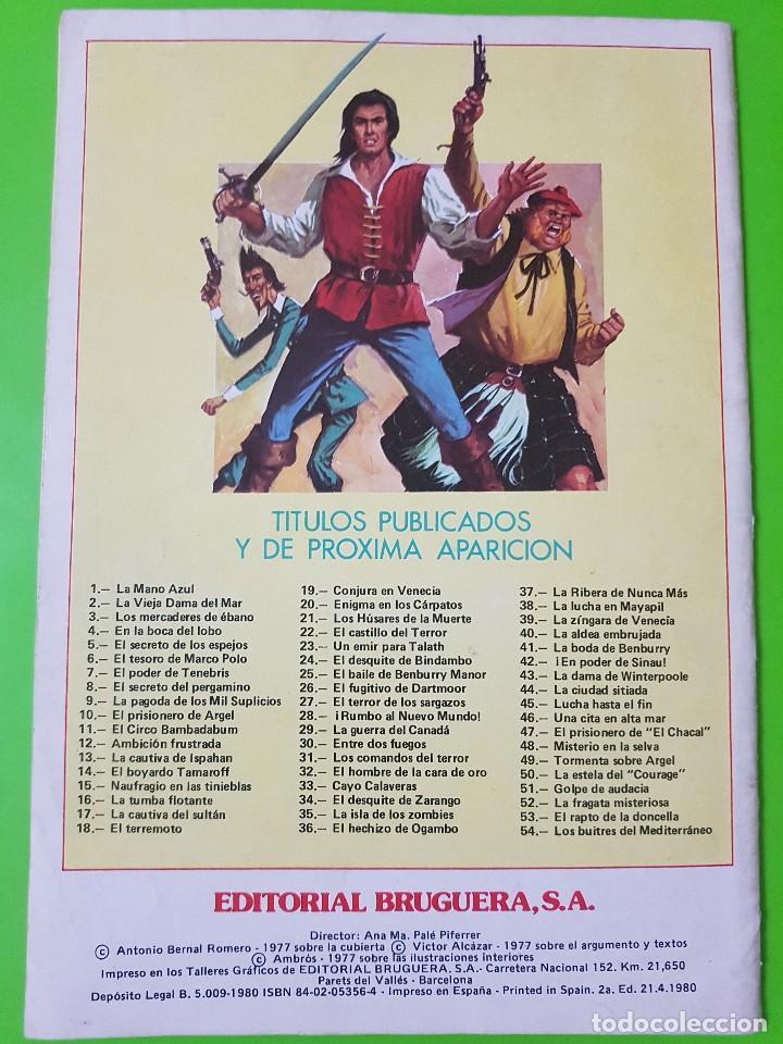 Tebeos: El Corsario de Hierro nº 2 años 1977 y 1980 - Foto 5 - 128680399