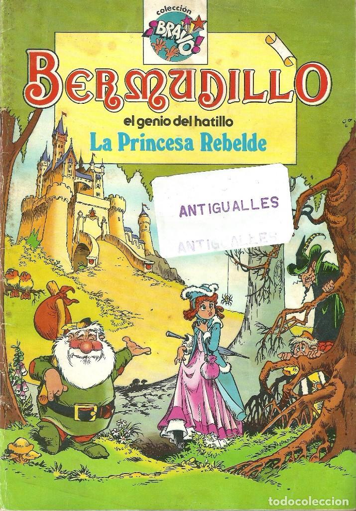 COMIC BERMUDILLO,EL GENIO DEL HATILLO Nº1,LA PRINCESA REBELDE,EDITORIAL BRUGUERA,COLECCION BRAVO. (Tebeos y Comics - Bruguera - Bravo)