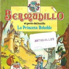 Tebeos: COMIC BERMUDILLO,EL GENIO DEL HATILLO Nº1,LA PRINCESA REBELDE,EDITORIAL BRUGUERA,COLECCION BRAVO.. Lote 128721155