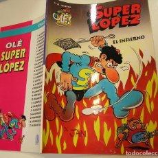 Tebeos: OLÉ Nº 28 SUPERLOPEZ SUPER LOPEZ, EL INFIERNO. MUY BUEN ESTADO Y DIFÍCIL APORTO MUCHAS FOTOS. Lote 128734135