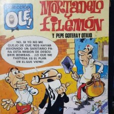 Tebeos: MORTADELO Y FILEMON Y PEPE GOTERA Y OTILIO , COLECCION OLE Nº 280. Lote 128836859