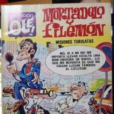 Tebeos: MORTADELO Y FILEMON : MISIONES TURULATAS COLECCION OLE Nº 144 EDITORIAL BRUGUERA 1979. Lote 128836883