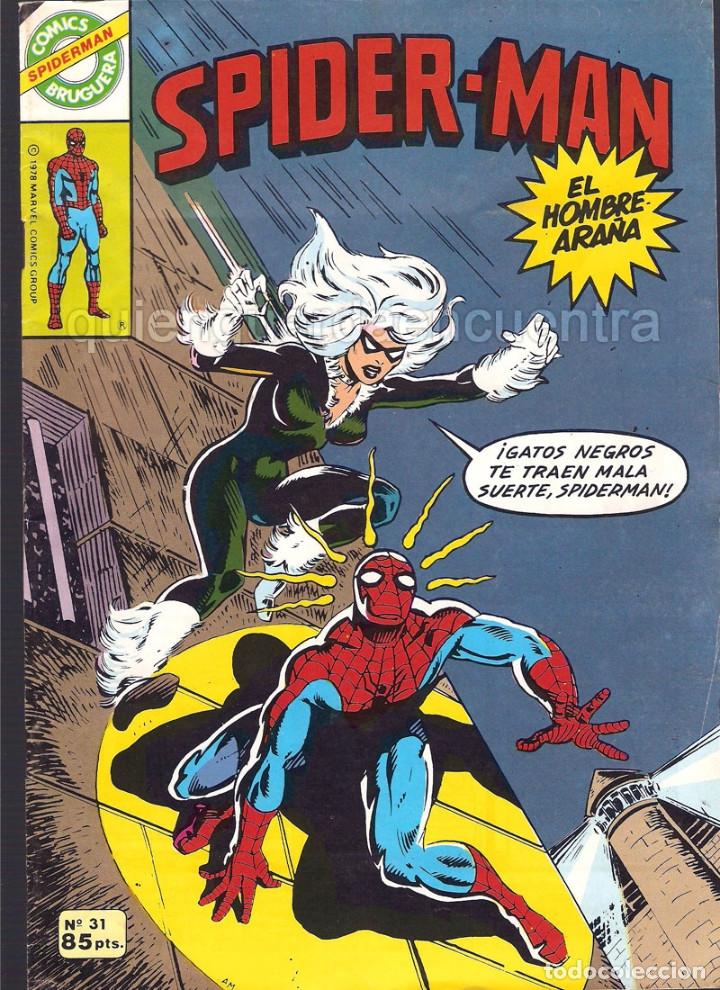 Tebeos: 20 Spider-Man Spiderman-Araña-20-21-23-26-29-30-31-32-34-37-38-40-47-50-53-55-56-65-69-70 Nuevo 1981 - Foto 14 - 54870084