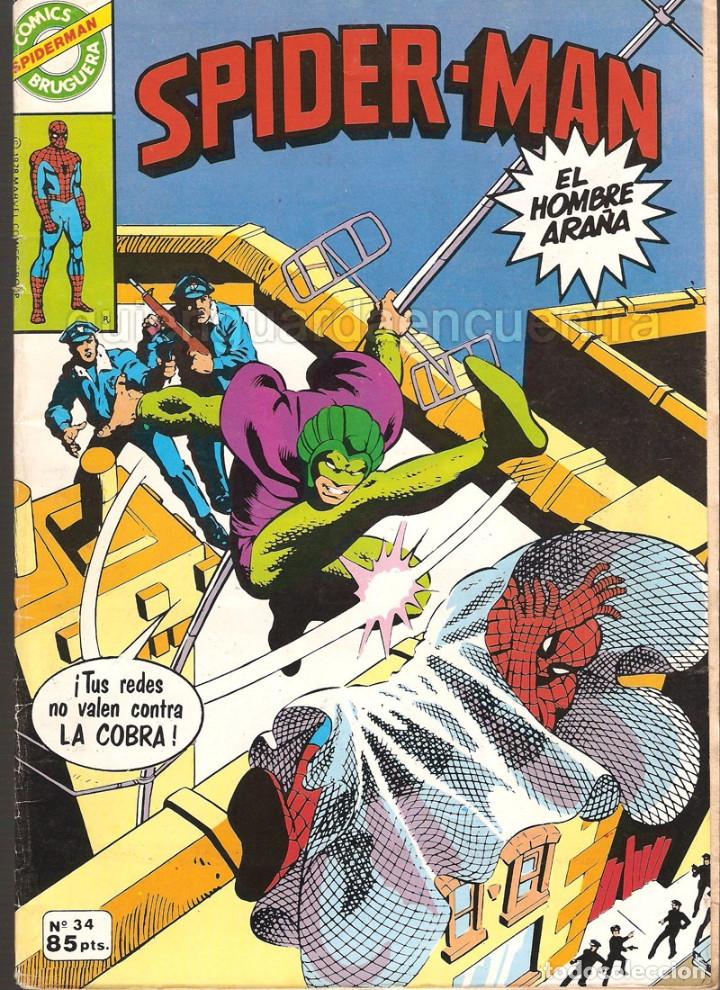 Tebeos: 20 Spider-Man Spiderman-Araña-20-21-23-26-29-30-31-32-34-37-38-40-47-50-53-55-56-65-69-70 Nuevo 1981 - Foto 15 - 54870084