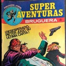 Tebeos: SUPER AVENTURAS BRUGUERA Nº 3 1978 NUEVO. Lote 128860819