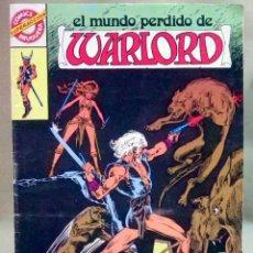 Tebeos: EL MUNDO PÉRDIDO DE WARLORD Nº 3 EDITORIAL BRUGUERA NUEVO. Lote 128861163
