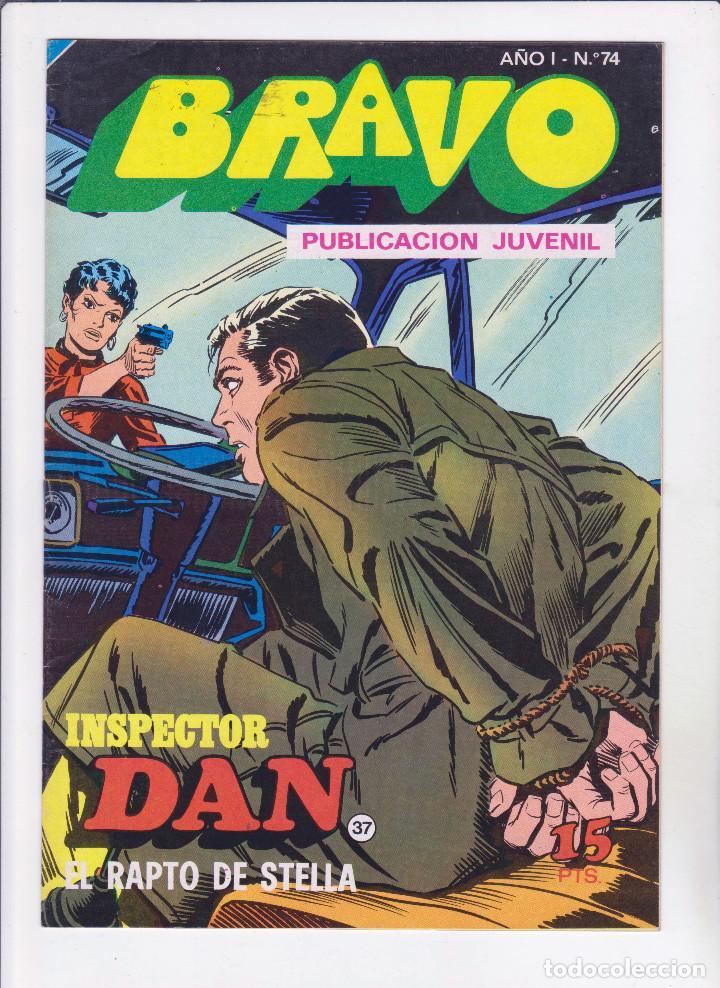 BRAVO. INSPECTOR DAN - NÚMERO 37: EL RAPTO DE STELLA - PERFECTO ESTADO (Tebeos y Comics - Bruguera - Bravo)