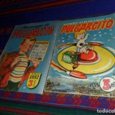 Tebeos: ORIGINAL BUEN ESTADO PULGARCITO ALMANAQUE 1952 Y ALMANAQUE 1953 CON INSPECTOR DAN. BRUGUERA. 3 PTS.. Lote 128876243