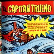 Tebeos: EL CAPITAN TRUENO REVISTA 4 EXTRAS Y DEL Nº 1 AL 42 1958 2 ENCUADENADOS CAJA 174 BIBLI 2ª IZQUIERDA. Lote 128884919