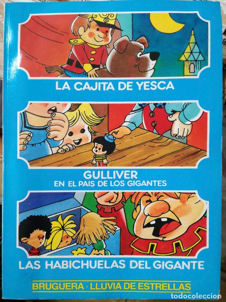 DIBUJOS JAN LLUVIA ESTRELLAS Nº 7 NUEVO 1ª EDICIÓN YESCA-GULLIVER- BRUGUERA 1985 (Tebeos y Comics - Bruguera - Otros)