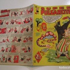 Tebeos: SUPER PULGARCITO Nº 14. MUY BUEN ESTADO. EDITORIAL BRUGUERA 1949 APORTO MUCHAS FOTOS. Lote 128983195