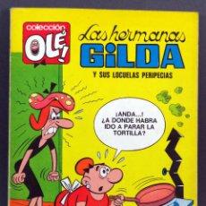 Tebeos: HERMANAS GILDA OLÉ Nº 9 LOCUELAS PERIPECIAS EDITORIAL BRUGUERA 1971 1ª EDICIÓN. Lote 129159619
