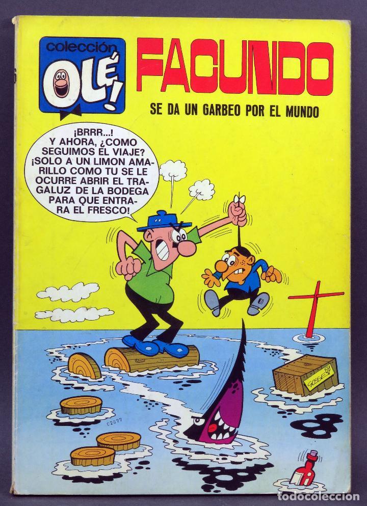 FACUNDO SE DA UN PASEO POR EL MUNDO OLE Nº 16 EDITORIAL BRUGUERA 1971 1ª EDICIÓN (Tebeos y Comics - Bruguera - Ole)