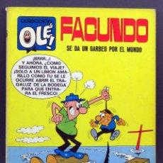 Tebeos: FACUNDO SE DA UN PASEO POR EL MUNDO OLE Nº 16 EDITORIAL BRUGUERA 1971 1ª EDICIÓN. Lote 129160707