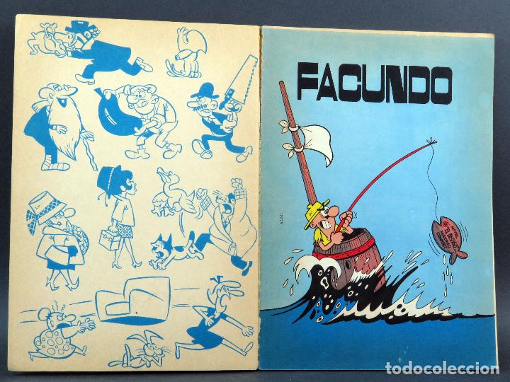 Tebeos: Facundo se da un paseo por el mundo Ole nº 16 Editorial Bruguera 1971 1ª edición - Foto 2 - 129160707