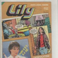 Tebeos: LILY- REVISTA FEMENINA -AÑO 1977-BRUGUERA-FORMATO GRAPA-COLOR-Nº 992. Lote 143581937