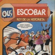 Tebeos: COMIC ESCOBAR REY DE LA HISTORIETA - COLECCION OLE, Nº 291 - BRUGUERA. Lote 129195771