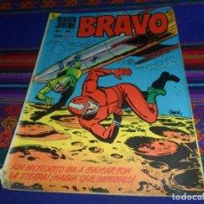 Tebeos: REVISTA JUVENIL BRAVO Nº 1. BRUGUERA 1968. 5 PTS. REGALO Nº 39. DIFÍCIL.. Lote 129289599