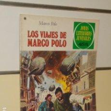Tebeos: JOYAS LITERARIAS JUVENILES Nº 166 LOS VIAJES DE MARCO POLO - BRUGUERA -. Lote 129318195