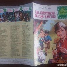 Tebeos: JOYAS LITERARIAS JUVENILES BRUGUERA Nº 182 LAS AVENTURAS DE TOM SAWYER 1ª PRIMERA EDICIÓN 1978. Lote 129335931