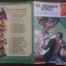 Tebeos: GRANDES AVENTURAS JUVENILES BRUGUERA Nº 22 SHERIFF KING SIETE MCDOUGAL PRIMERA EDICIÓN 1972. Lote 129336227