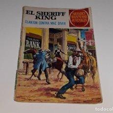 Tebeos: GRANDES AVENTURAS JUVENILES - EL SHERIFF KING Nº 14 - CLANTON CONTRA MAC DIVER - ED. BRUGUERA 1975. Lote 129420203