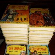 Tebeos: 44 TITULOS,COLECCION HISTORIAS, BRUGUERA 1ª EPOCA 1957-60,BUEN ESTADO-TODOS CON SOBRECUBIERTA . Lote 129460483