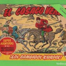 Tebeos: EL COSACO VERDE - Nº 1 - ¡LOS BANDIDOS KURDOS! - (1960) - BRUGUERA.. Lote 129534611