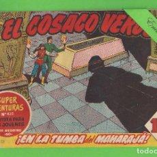 Tebeos: EL COSACO VERDE - Nº 51 - ¡EN LA TUMBA DEL MAHARAJÁ! - (1961) - BRUGUERA.. Lote 129536807