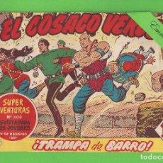 Tebeos: EL COSACO VERDE - Nº 107 - ¡TRAMPA DE BARRO! - (1962) - BRUGUERA.. Lote 129540699