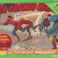 Tebeos: EL COSACO VERDE - Nº 108 - ¡EL PRÍNCIPE MALVADO! - (1962) - BRUGUERA.. Lote 129540955