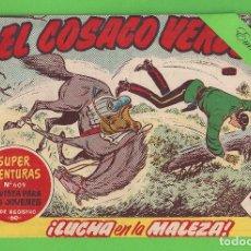 Tebeos: EL COSACO VERDE - Nº 110 - ¡LUCHA EN LA MALEZA! - (1962) - BRUGUERA.. Lote 129541711