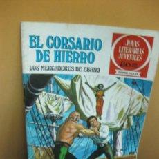 Tebeos: EL CORSARIO DE HIERRO Nº 3. LOS MERCADERES DE EBANO. JOYAS LITERARIAS JUVENILES SERIE ROJA. 1977. Lote 129720583