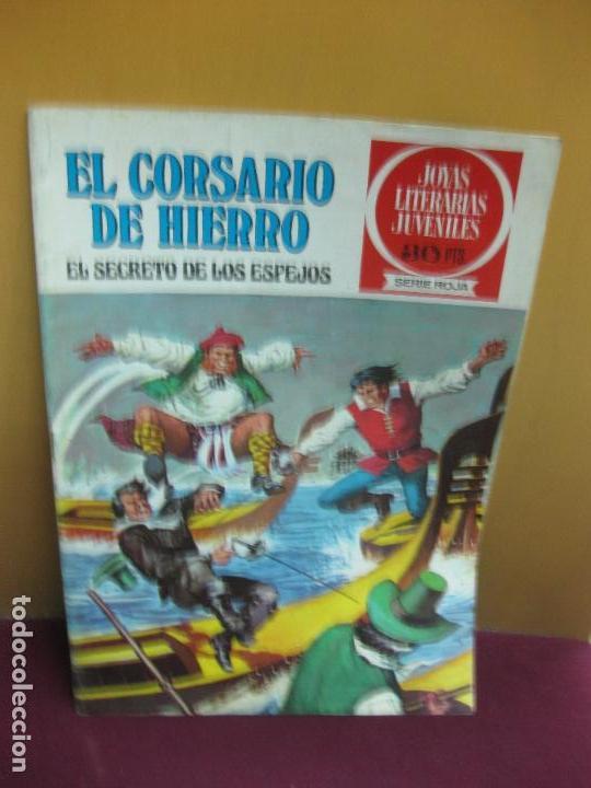 EL CORSARIO DE HIERRO Nº 5. EL SECRETO DE LOS ESPEJOS. JOYAS LITERARIAS JUVENILES SERIE ROJA. 1977 (Tebeos y Comics - Bruguera - Corsario de Hierro)