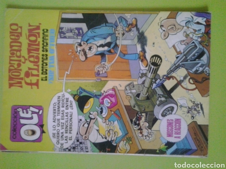 Tebeos: Mortadelo y Filemón N 175 Año 1985 Edición OLE Bruguera Comic Sacarino y Sir Tim Otheo - Foto 1 - 129721523