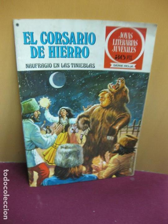 EL CORSARIO DE HIERRO Nº 15. NAUFRAGIO EN LAS TINIEBLAS.. JOYAS LITERARIAS. SERIE ROJA. 1978 (Tebeos y Comics - Bruguera - Corsario de Hierro)