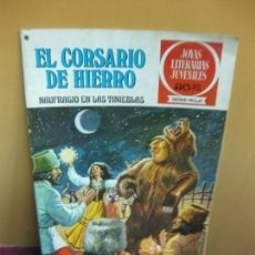 Tebeos: EL CORSARIO DE HIERRO Nº 15. NAUFRAGIO EN LAS TINIEBLAS.. JOYAS LITERARIAS. SERIE ROJA. 1978. Lote 129722807