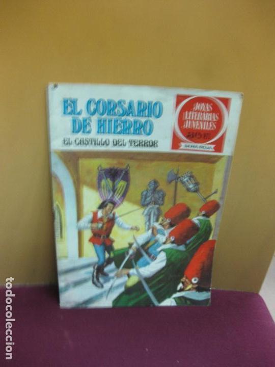 EL CORSARIO DE HIERRO Nº 51. GOLPE DE AUDACIA. JOYAS LITERARIAS. SERIE ROJA. 1978 (Tebeos y Comics - Bruguera - Corsario de Hierro)