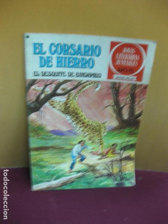 EL CORSARIO DE HIERRO Nº 24. EL DESQUITE DE BINDAMBO. JOYAS LITERARIAS. SERIE ROJA. 1978 (Tebeos y Comics - Bruguera - Corsario de Hierro)