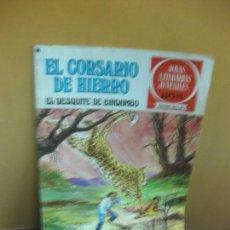 Tebeos: EL CORSARIO DE HIERRO Nº 24. EL DESQUITE DE BINDAMBO. JOYAS LITERARIAS. SERIE ROJA. 1978. Lote 129724583