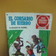 Tebeos: EL CORSARIO DE HIERRO Nº 36. EL HECHIZO DE OGAMBO. JOYAS LITERARIAS. SERIE ROJA. 1978. Lote 129724923