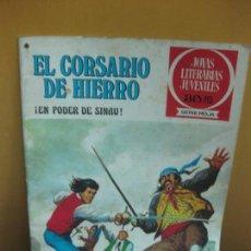 Tebeos: EL CORSARIO DE HIERRO Nº 42. ¡ EN PODER DE SINAU !. JOYAS LITERARIAS. SERIE ROJA. 1978. Lote 129725495